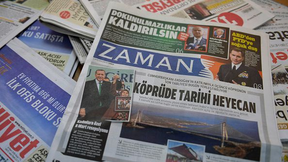 Zaman, Turkey's best-selling newspaper, ran stories supporting the  government on March 6