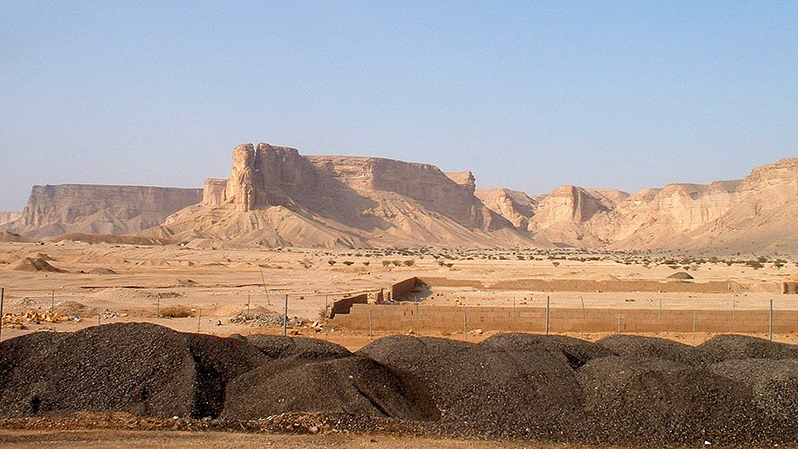 The Najd desert, where Wahhabism was born.