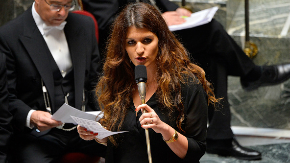Secretary Schiappa fields deputies' questions at the Assemblée nationale in July 2017