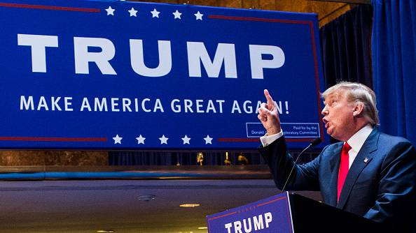 Business mogul Donald Trump launched his campaign at Trump Tower on June 16
