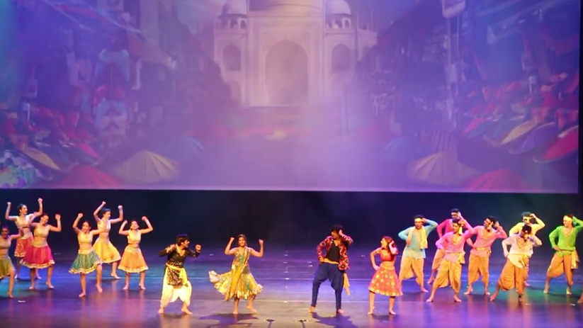 Beyond Bollywood includes different dances and folk traditions