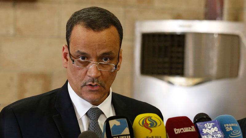 UN special envoy Ismail Ould Cheikh Ahmed announced peace talks would be held in Kuwait on April 18