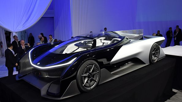 Faraday Future Reveals Sixth Sense Car At Ces