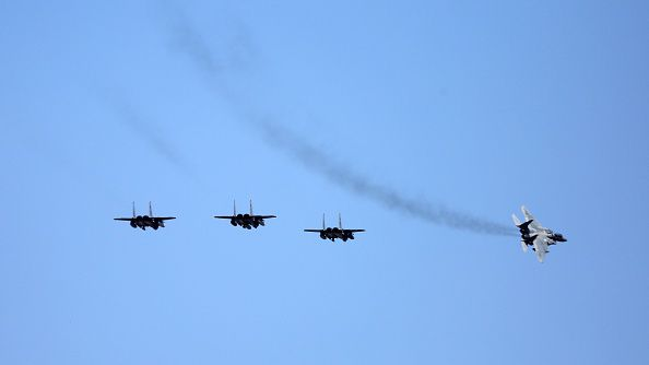 Four Saudi jets land at Turkey's Incirlik airbase, used by the coalition against IS, on February 26