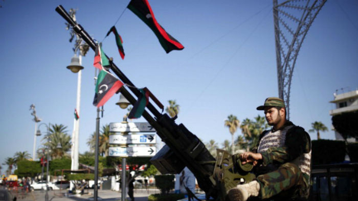 Tightening security in Tripoli on the second anniversary of the end of the Libyan Civil War in 2013