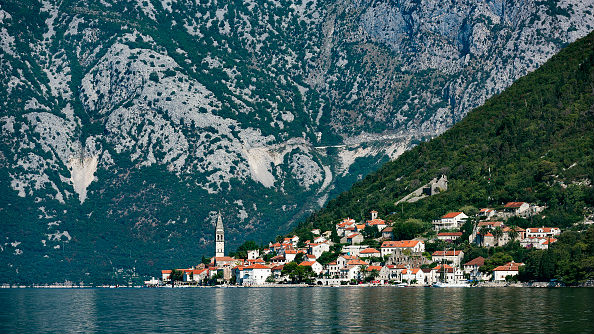 Montenegro's scenic Bay of Kotor has attracted a wealth of Russian tourism and investment