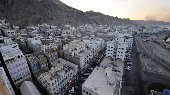 AQAP still controls the capital of the vast Hadramawt province, al-Mukalla, here pictured on April 29, 2014