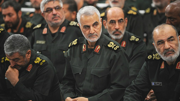 Qassem Soleimani (C), the commander of Iran's Quds Force, is one of the most powerful operators in the Middle East