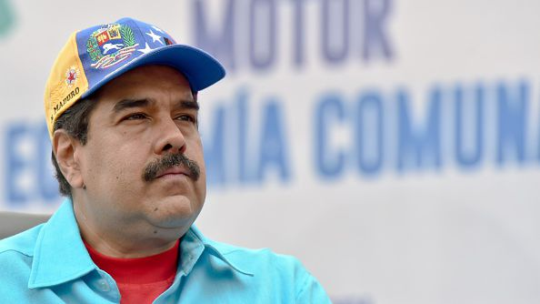 President Maduro s remains defiant in the face of political opposition and  economic collapse 7203fb55f